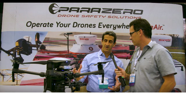 Video: Parazero CEO speaks on Drone Recovery Systems
