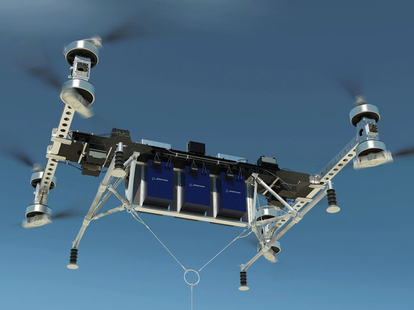 Boeing's Experimental Cargo Drone Is A Heavy Lifter