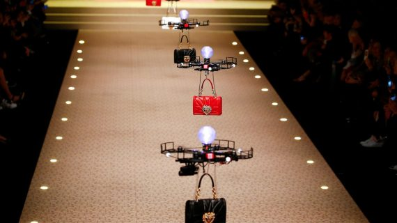 Dolce & Gabbana is Using Drones to Model its Handbags at Milan Fashion Week