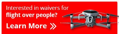 Flight over people