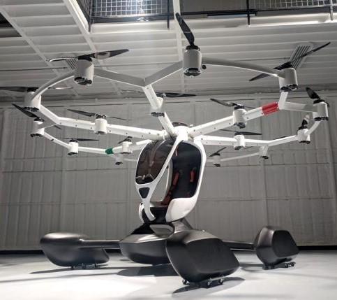 Lift HEXA drone with ParaZero parachute